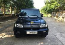 Bán Hyundai Galloper đời 2003, màu đen, xe nhập