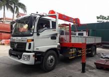 Bán xe Thaco Auman 9 tấn C160 gắn cẩu kanglim, unic, soosan