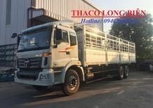 Xe tải 3 chân Thaco Auman tải trọng 14 tấn - khuyến mại 100% thuế trước bạ