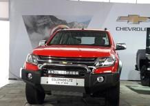 Bán Chevrolet Colorado 2.8 AT 4x4 năm 2016, màu đỏ, nhập khẩu chính hãng