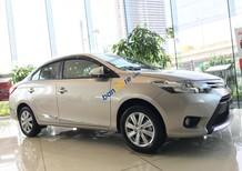 Giá xe Toyota Vios E CVT hoàn toàn mới, màu nâu vàng giao ngay, giá cực tốt