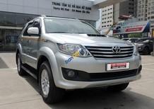 Cần bán xe Toyota Fortuner G 2014, màu bạc số sàn, giá 910 tr