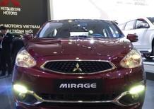 Bán Mitsubishi Mirage năm 2016, màu đỏ, nhập khẩu chính hãng, giá chỉ 480 triệu