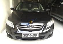 Bán xe Toyota Corolla Altis 1.8 G đời 2009, màu đen