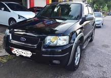 Bán Ford Escape XLT đời 2003, màu đen chính chủ