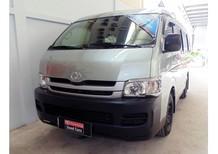 Cần bán gấp Toyota Hiace 2.7 Gas 2008, màu xanh lam