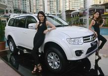 Giá xe 7 chỗ Pajero Sport Đà Nẵng, bán xe Pajero Sport màu trắng tại Đà Nẵng