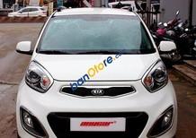 Bán Kia Morning S 1.25AT, số tự động, sản xuất năm 2014, màu trắng, lắp ráp trong nước Việt Nam