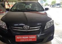Bán xe Toyota Corolla altis 1.8G 2009, màu đen