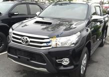 Toyota Long Biên Hilux AT màu đen nhập khẩu, hotline: 09722.515.91. Liên hệ ngay để nhận thêm nhiều ưu đãi