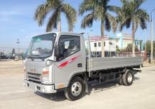 Bán xe tải 3,45 tấn Thái Bình đời 2016, màu bạc, 375tr