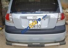 Bán Hyundai Getz đời 2010, màu bạc, 300tr