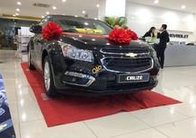 Bán xe Chevrolet Cruze 1.6 LT đời 2017, màu đen, giá tốt nhất miền bắc, liên hệ ngay: 0936114988