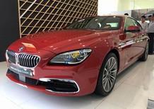 BMW 6 Series model 2017, màu đỏ, xe nhập chính hãng kèm nhiều option đặc biệt