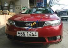 Cần bán lại xe Kia Cerato , đời 2009, màu đỏ, nhập khẩu nguyên chiếc số sàn