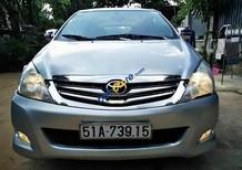 Gia đình bán Toyota Innova J đời 2008, màu bạc