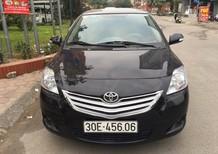 Bán ô tô Toyota Vios E 2010, màu đen, giá chỉ 370 triệu