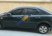 Bán xe cũ Daewoo Lacetti MT sản xuất 2011, màu đen số sàn, giá tốt