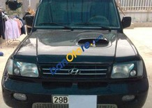 Xe Hyundai Galloper sản xuất 2003, màu đen số tự động