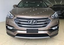 Cần bán Hyundai Santa Fe phiên bản đặc biệt 2017 2.4 máy xăng vàng cát