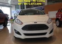 Cần bán Ford Fiesta 1.0 ecoboost 2016, màu trắng, giá tốt có xe giao ngay