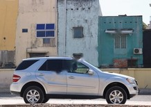 Cần bán Mercedes ML350 năm 2005, màu bạc, nhập khẩu chính chủ