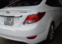 Cần bán lại xe Hyundai Accent đời 2011, màu trắng