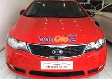 Cần bán gấp Kia Cerato đời 2012, màu đỏ, nhập khẩu Hàn Quốc, số tự động, 545 triệu