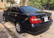 Cần bán gấp Toyota Camry 2.4 đời 2003, màu đen xe gia đình giá cạnh tranh