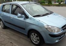 Bán Hyundai Getz LT đời 2009, màu xanh lam, xe nhập chính chủ