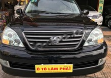 Cần bán xe Lexus GX 470 đời 2006, màu đen, xe nhập