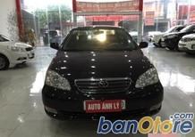 Cần bán xe Toyota Corolla altis 1.8G đời 2004, màu đen, giá chỉ 375 triệu