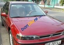 Cần bán Honda Accord AT sản xuất 1992, màu đỏ số tự động