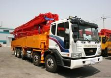 Đại lý độc quyền xe Bơm bê tông Junjin JXZZ38-5.16HP cần 38m, hỗ trợ trả góp lãi suất thấp