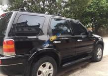 Cần bán gấp Ford Escape XLT 3.0AT đời 2005, màu đen chính chủ, giá tốt