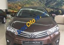Bán ô tô Toyota Corolla altis 1.8G AT đời 2017, màu nâu, giá tốt