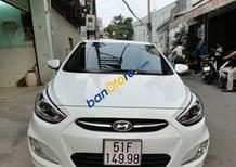 Bán xe cũ Hyundai Accent Blue đời 2015, màu trắng xe gia đình, 535 triệu