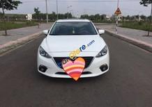 Gia đình bán xe Mazda 3 đời 2015, màu trắng như mới, giá chỉ 660 triệu
