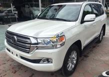 Giao ngay xe mới nhập khẩu Mỹ Toyota Landcruiser màu trắng, bảo hành 36 tháng
