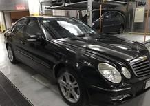 Bán Mercedes E200 đời 2007, màu đen