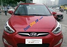 Tứ Quý Auto cần bán xe Hyundai Accent 1.4AT đời 2014, màu đỏ, giá 540tr