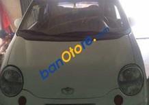 Cần bán lại xe Daewoo Matiz MT đời 2004, màu trắng số sàn, giá 82tr