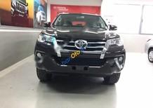 Bán Toyota Fortuner V 2.7L 4x2AT đời 2017, màu nâu, nhập khẩu nguyên chiếc