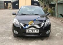 Cần bán xe Toyota Vios 1.5E năm 2010, màu đen số sàn