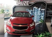 Bán Chevrolet Cruze LT, giá ưu đãi, hỗ trợ vay 100% giá trị xe, lãi suất thấp