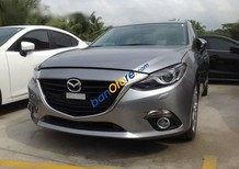 Bán xe cũ Mazda 3 2.0L 2015, màu xám, giá tốt