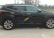 Bán Hyundai Santa Fe 2.4AT đời 2015, màu đen như mới