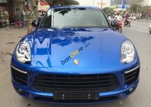 Bán xe cũ Porsche Macan sản xuất 2015, màu xanh lam, nhập khẩu như mới