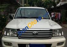 Bán xe cũ Toyota Land Cruiser MT đời 2000, màu trắng, nhập khẩu, giá chỉ 385 triệu