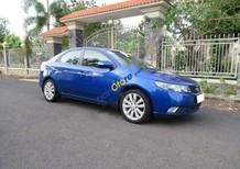 Cần bán lại xe Kia Forte SLI đời 2009, màu xanh lam, nhập khẩu chính hãng số tự động